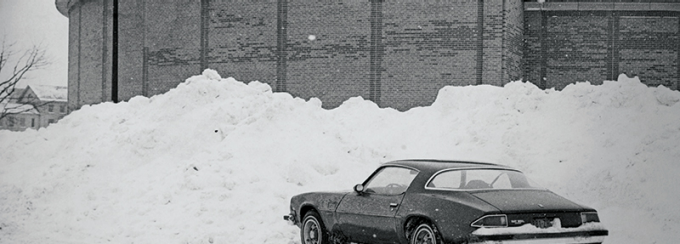 Car after the Blizzard of '77