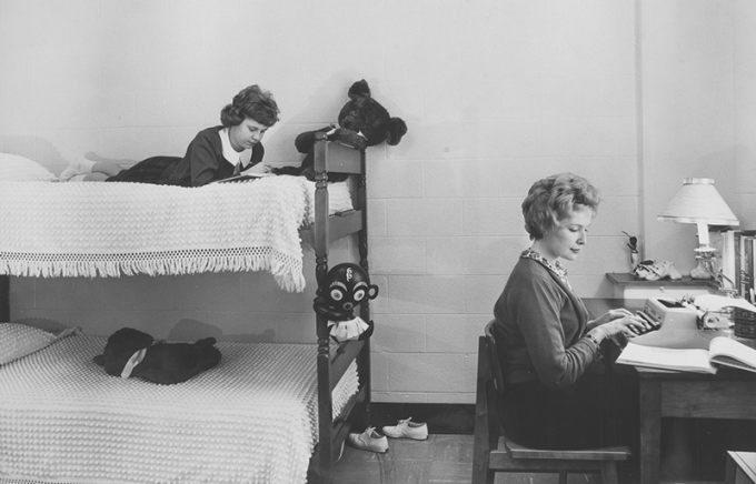 Goodyear woman's dorm room
