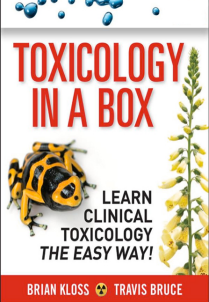 Book cover of Toxicology in a Box