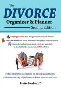 Book cover of The Divorce Organizer and Planner, Second Edition