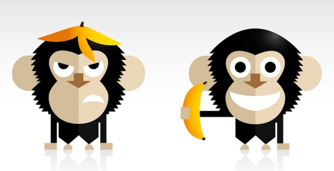 Monkey Illustrations