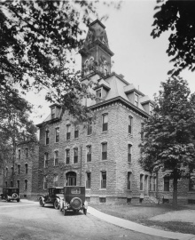 Hayes Hall n the 1920s.