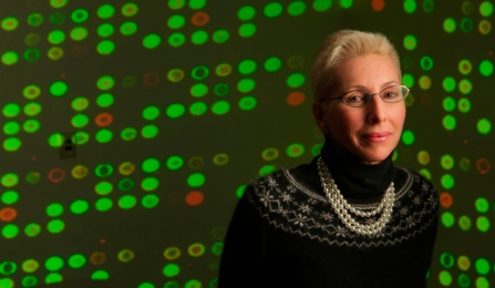 Dr. Norma Nowak, one of the leaders involved with the Genomic Medicine Initiative.