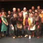 Cast and Creative Team of AT BUFFALO following staged reading