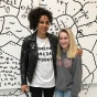 Shantell Martin with Kamryn Lewis