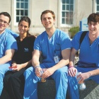 Dental Students on UB South Campus.
