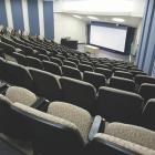 Overview of a lecture hall.