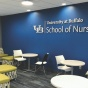 A newly renovated space in Wende Hall for the School of Nursing.