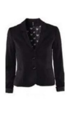 Black fitted blazer.