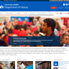 Department of History website