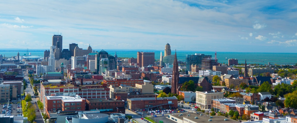 Image of Downtown Buffalo.