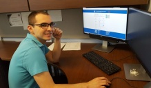Joseph Ventresca, the CTSI's information technology business analyst.