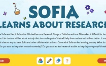 Sofia Learns About Research Header.