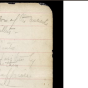 A handwritten historical document and a digital transcription.