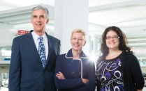 Leaders of the GEM team are, from left, Timothy Murphy, Norma Nowak and Jennifer Surtees.