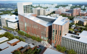 Rendering of the new Jacobs School of Medicine and Biomedical Sciences.