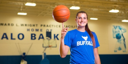 Cassandra Oursler is a proud student athlete.