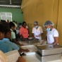 Photo of school cafeteria in the Dominican Republic, courtesy of Sarah Robert.