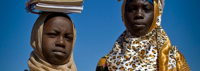 Darfurians refugees in Eastern Chad _ Chad, Darfurian refugees, 2012, modified