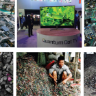 pictures of e-waste.