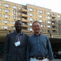 Dr. Qing Ma and Dr. Waheed Adedeji in Washington, DC.