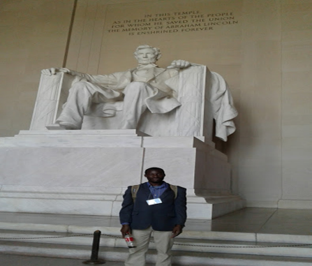 Dr. Adedeji in Washington.