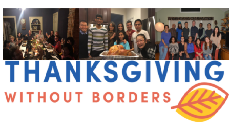Thanksgiving Without Borders banner.