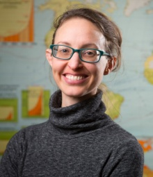 Head shot of Abigail Cooke, UB assistant professor of geography