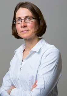 Head shot of Andrea Markelz, University at Buffalo protein dynamics expert.