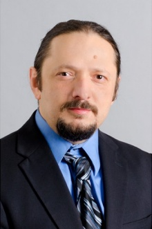 Head shot of Ciprian Ionita, University at Buffalo medical engineering researcher