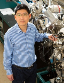 Head shot of Hao Zeng, University at Buffalo faculty expert on magnetism, spin and materials at reduced dimensions.
