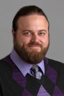 Head shot of Jason Benedict, University at Buffalo chemistry expert.