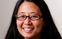 "Head shot of Joyce Hwang, University at Buffalo animal architecture or ""habitecture"" expert."