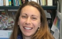 Head shot of Kristin Poinar, UB faculty expert on ice sheets and climate change.