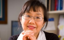Head shot of Machiko Tomita, University at Buffalo aging and caregiving expert.