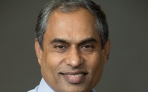 Head shot of Shambhu Upadhyaya, University at Buffalo cybersecurity expert.