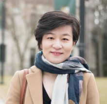 Portrait of Yige Dong, University at Buffalo gender, work and political economy expert.