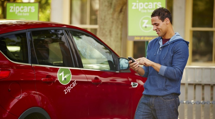 red zipcar