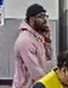 Unidentified male who used stolen credit cards.