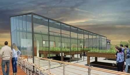 photo of UBs GRoW House and its Garden Box room.