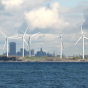 photo of Steel City wind farm on Lake Erie.