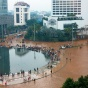 Flooding in Jakarta, Indonesia in 2007.