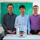 Chi Zhou, PhD - Students on 3D Printing Graphene Project.
