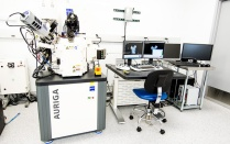 Focused Ion Beam Scanning Electron Microscope (FIB-SEM) - Carl Zeiss AURIGA CrossBeam