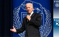Joe Biden at UB.