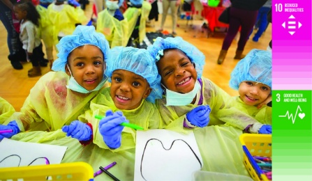 children as dentists