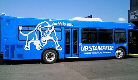 Picture of new UB Stampede buses