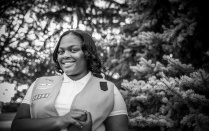 Mahogany Middlebrooks of the Girl Scouts of Western New York.