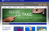 University Communications maintains UB's homepage
