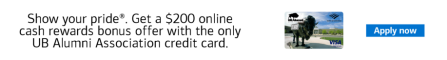 Bank of America credit cards.